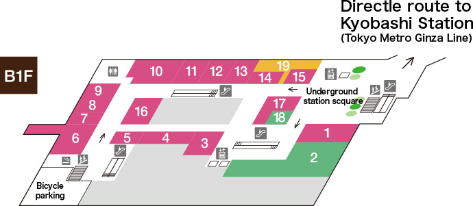 TOKYO SQUARE GARDEN B1F